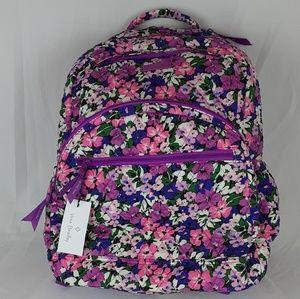 NWT Vera Bradley Essential Large Backpack Flower